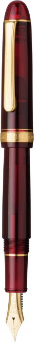 Platinum #3776 CENTURY Bourgogne B - Penita Aur 14K 2