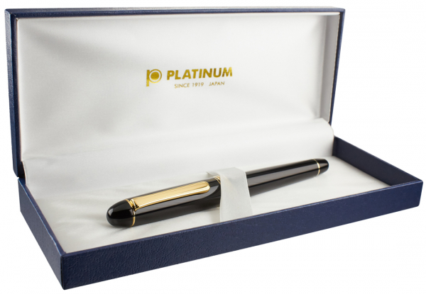 Platinum #3776 CENTURY Chartres Blue B - Penita Aur 14K [4]