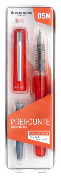 Platinum PREFOUNTE Vermillion Orange M 2