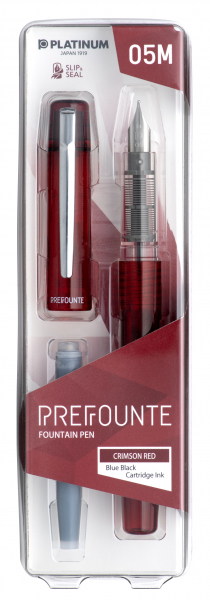 Platinum PREFOUNTE Crimson Red M 2