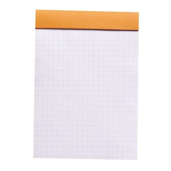 Blocnotes RHODIA No.13, Orange A6, 80 file, patratele 2