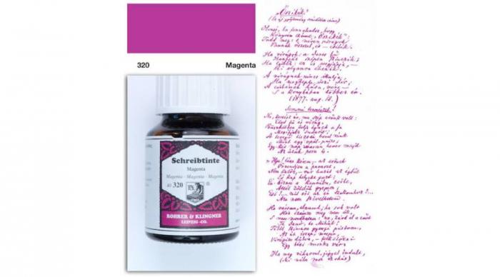 Rohrer & Klingner 320 Magenta 50 ML 0