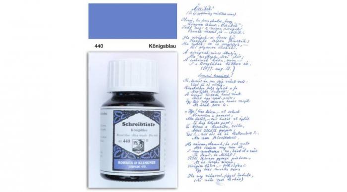 Rohrer & Klingner 440 Königsblau 50 ML 0
