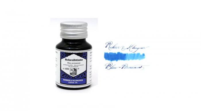 Rohrer & Klingner 450 Blau Permanent 50 ML 0