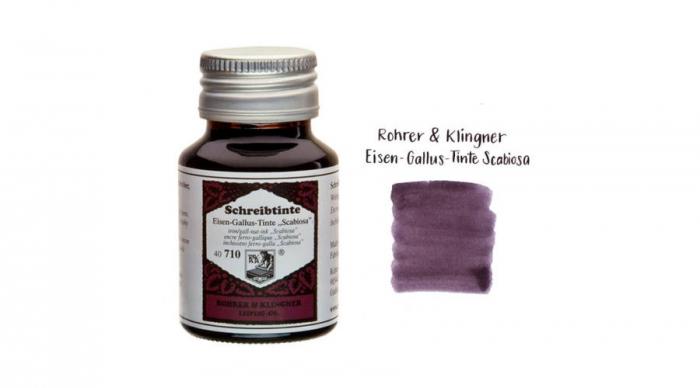 "Cerneala tip ""iron gall"" Rohrer & Klingner 710 Scabiosa 50 ML 0"