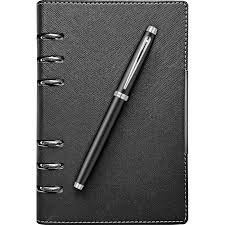 Set stilou Sheaffer 100 Black CT + organizer B6 cu mecanism 0