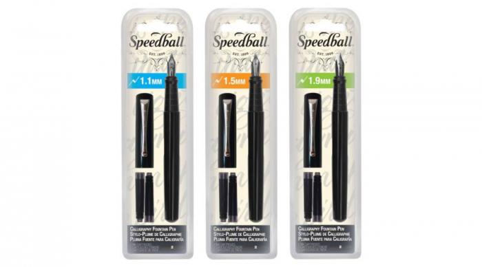 Stilou caligrafie Speedball 1.5 mm [0]