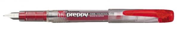 Platinum PREPPY Red M 0