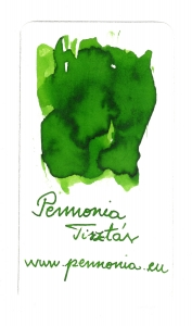 Pennonia Tisztás, 50 ml, Green - cerneala la calimara1