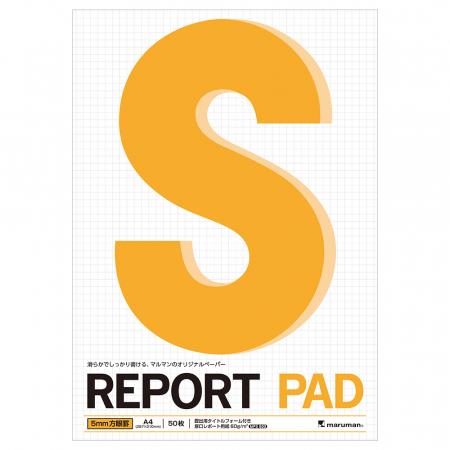 Blocnotes MARUMAN High Quality Report Pad P144A, A4, 50 file, patratele0