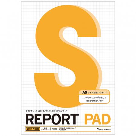Blocnotes MARUMAN High Quality Report Pad P164, A5, 40 file, patratele [0]