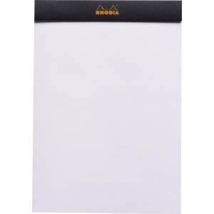 Blocnotes RHODIA No.16, Black A5, 80 file, velin1
