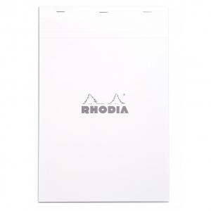 Blocnotes RHODIA No.19, White A4, 80 file, dictando0