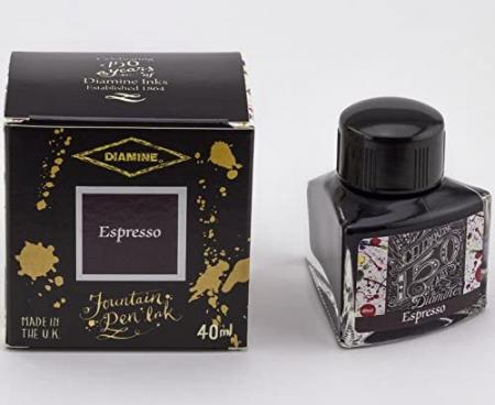 Diamine 150th Anniversary Espresso 40 ML1
