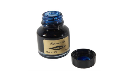Diamine Registrars Blue-Black - cerneala pentru arhivare 30 ML [1]