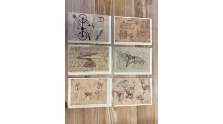Carte Postala Leonardo [3]