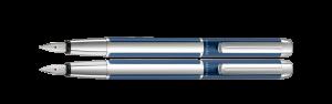 Pelikan Pura P40 Blue-Silver F2