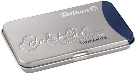 Patroane cerneala Pelikan Edelstein in caseta metalica, set 6 patroane mari [1]