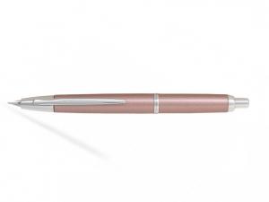 Pilot Capless Decimo Pink Champagne M - Penita Aur Alb 18K [0]