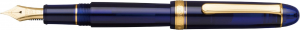 Platinum #3776 CENTURY Chartres Blue B - Penita Aur 14K [0]