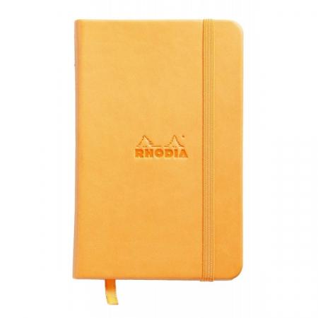 WebnoteBook RHODIA cu elastic, Orange A6, 96 file,velin0