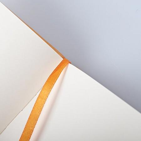 WebnoteBook RHODIA cu elastic, Orange A6, 96 file,velin2