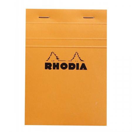 Blocnotes RHODIA No.13, Orange A6, 80 file, patratele0