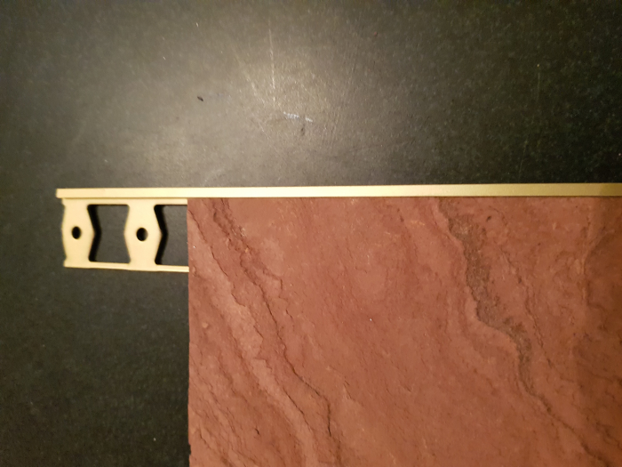 Profil metalic GOLD pentru finisare 2,5 ml 0