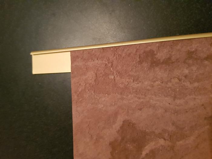 Profil metalic GOLD pentru finisare 2,5 ml 2