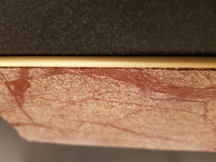 Profil metalic GOLD pentru finisare 2,5 ml 4
