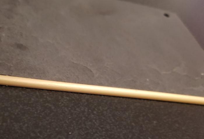 Profil metalic GOLD pentru finisare 2,5 ml 3