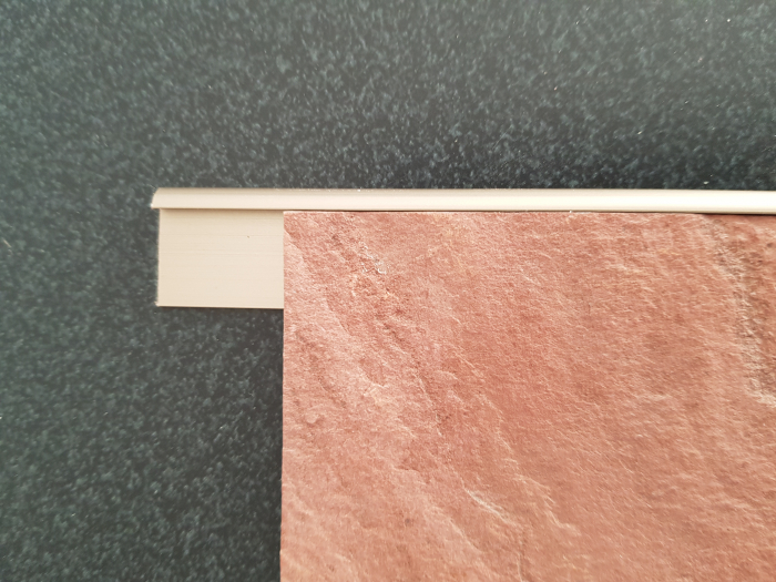 Profil metalic STEEL pentru finisare 2,5 ml 5
