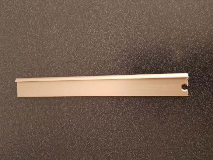 Profil metalic STEEL pentru finisare 2,5 ml 0