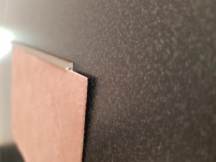 Profil metalic STEEL pentru finisare 2,5 ml 6