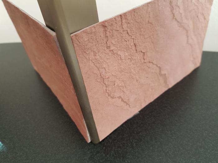 Profil metalic STEEL pentru colt exterior rotund 2,7 ml 7