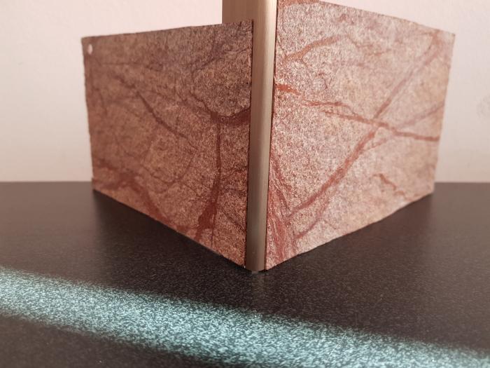 Profil metalic STEEL pentru colt exterior rotund 2,7 ml 4