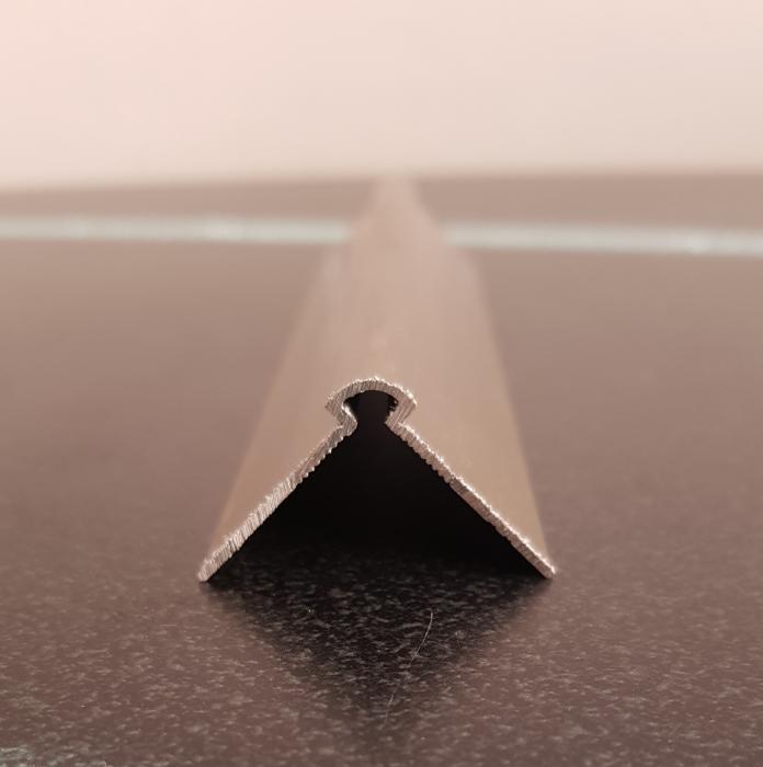 Profil metalic STEEL pentru colt exterior rotund 2,7 ml 2