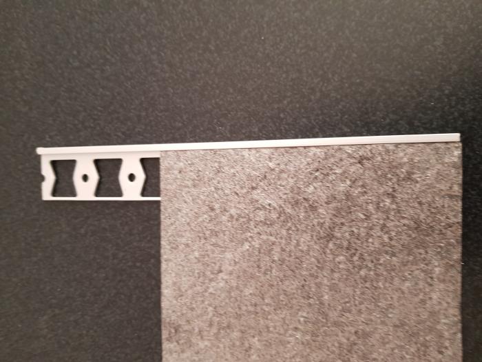Profil metalic SILVER pentru finisare 2,5 ml 4