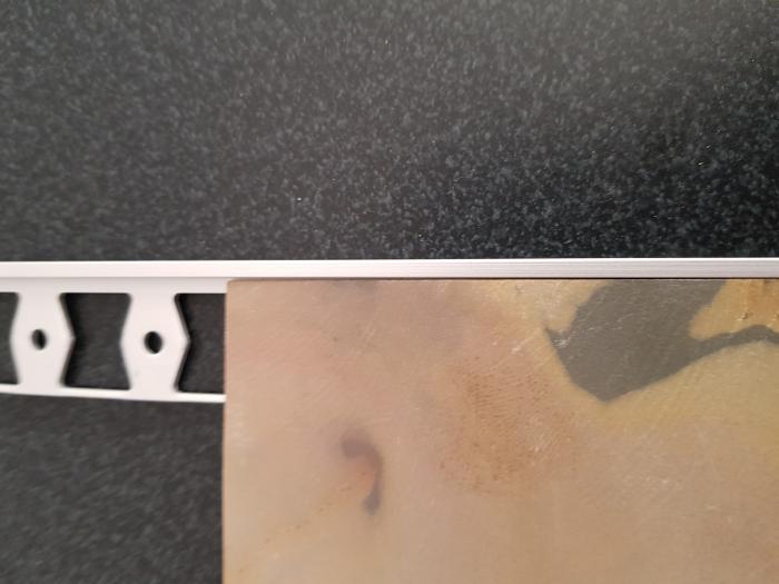 Profil metalic SILVER pentru finisare 2,5 ml 2