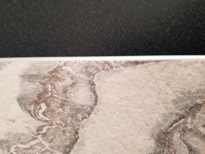 Profil metalic SILVER pentru finisare 2,5 ml 5