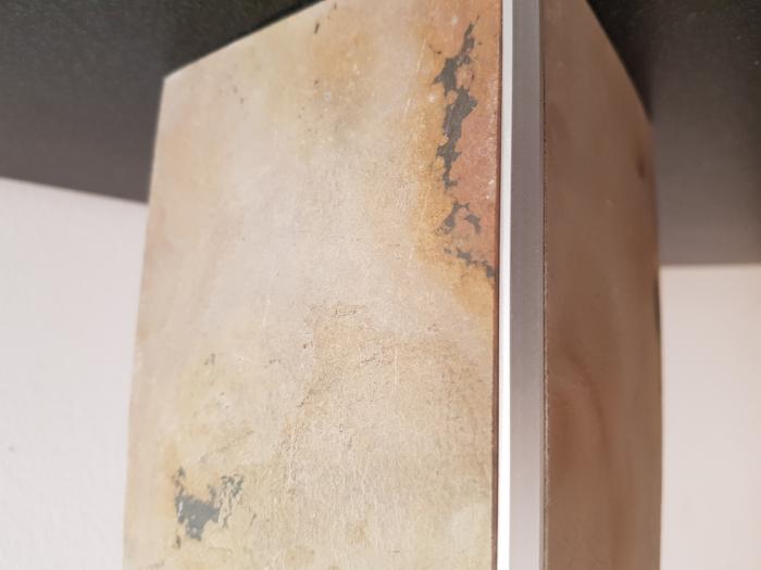 Profil metalic SILVER pentru colt exterior patrat 2,7 ml 5