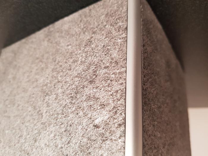 Profil metalic SILVER pentru colt exterior rotund 2,7 ml [6]