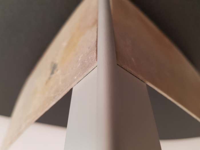 Profil metalic SILVER pentru colt exterior rotund 2,7 ml [5]
