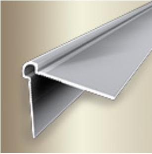 Profil metalic SILVER pentru colt exterior rotund 2,7 ml [0]