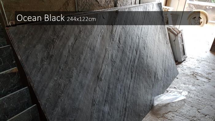 Ocean Black 122 x 244 cm 4