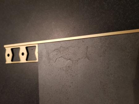 Profil metalic GOLD pentru finisare 2,5 ml [5]