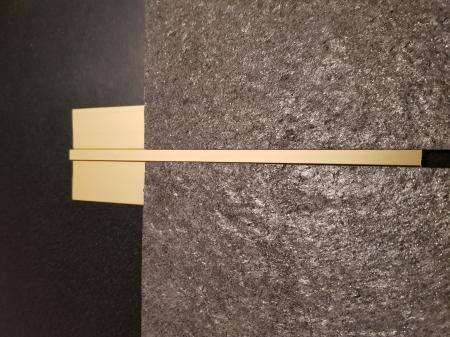Profil GOLD delimitare 2,7 ml6