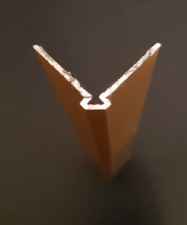 Profil GOLD colt exterior patrat 2,7 ml2