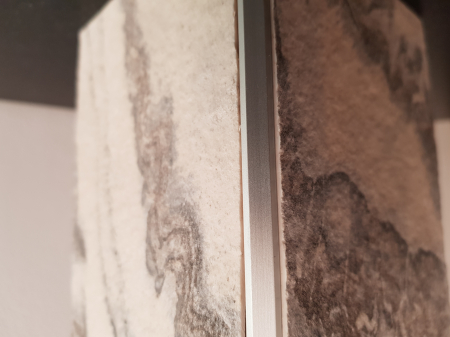 Profil SILVER colt exterior patrat 2,7 ml3