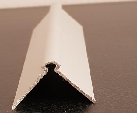 Profil metalic SILVER pentru colt exterior rotund 2,7 ml [2]